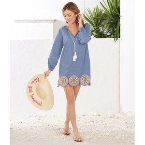 NWT! Vallarta Tunic Blouse I Coverup Dress